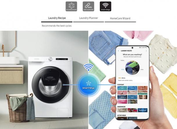 Intelligent Waschen - Simple Control