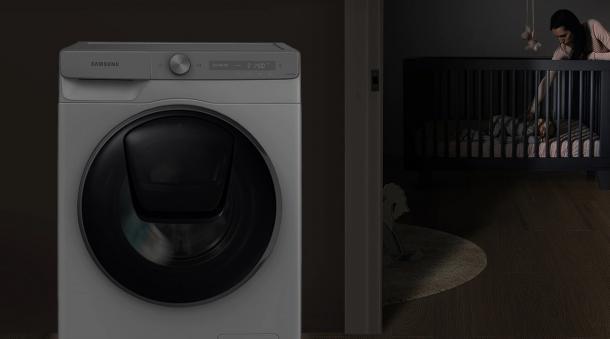 Leise und friedlich Waschen - VRT Plus™ (1600 U/min)