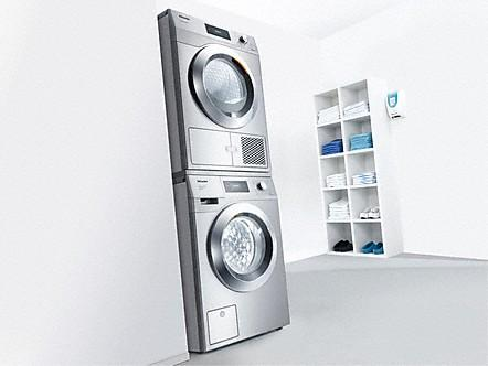 Wasch-Trocken-Säule