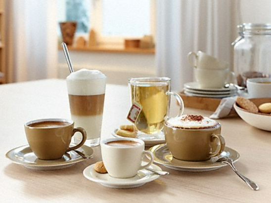 Coffee & Tea - 20 verschiedene Getränkespezialitäten