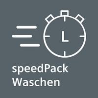 Beschleunigen Sie Ihre Programme oder waschen Sie in nur 15 Minuten - speedPack L für Waschmaschinen